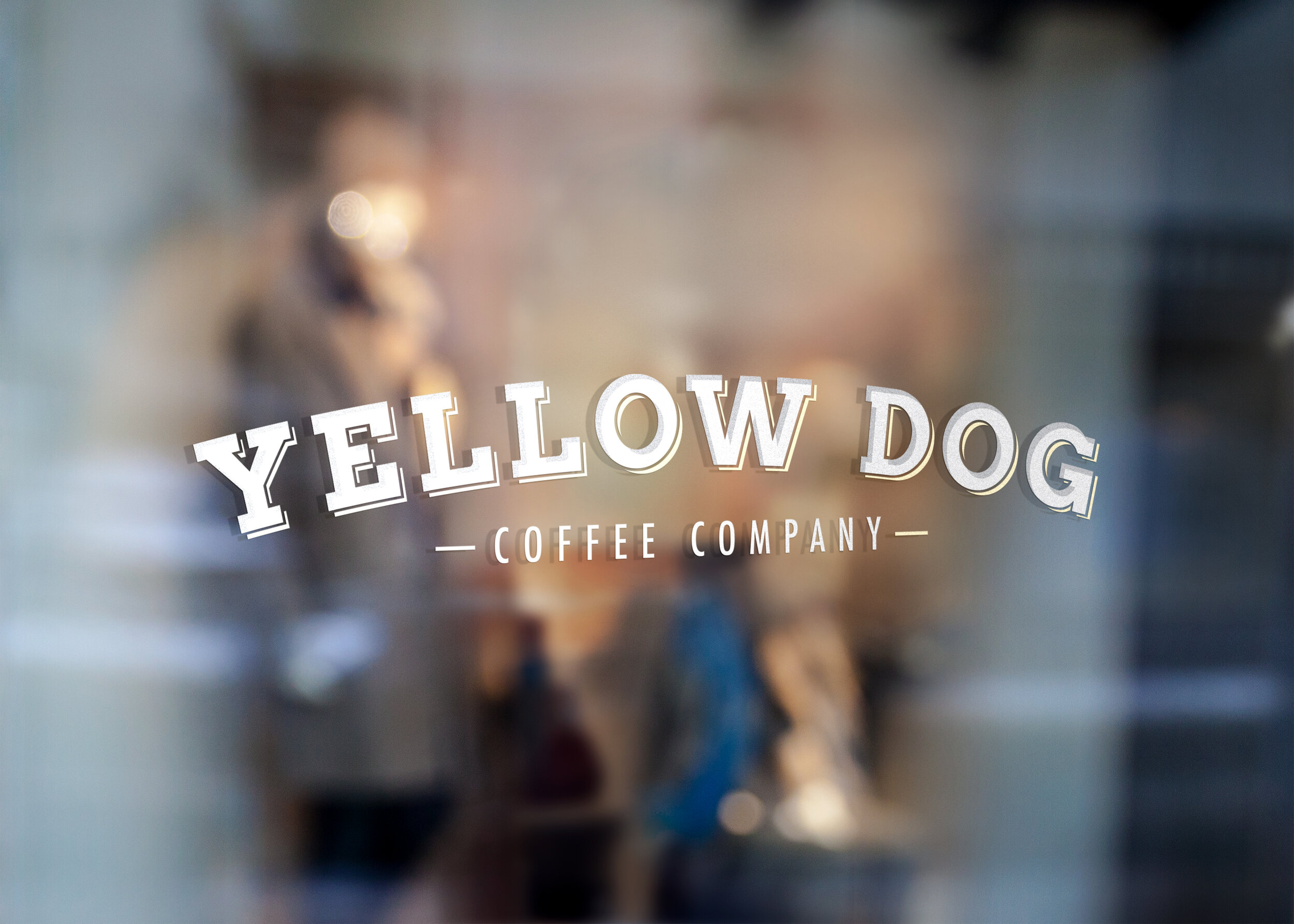 Yellow Dog Coffee Company | Branding & Identity, Logo Design, Website, Menu Design