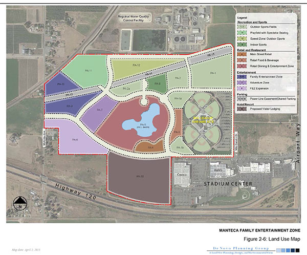 Manteca Family Entertainment Zone EIR — De Novo Planning Group on stockton map, linden map, sanger map, santee map, escalon map, burney map, colton map, berkeley map, woodlake map, milpitas map, lemoore map, french camp map, garberville map, marina map, brentwood map, fullerton map, port costa map, patterson map, avenal map, oakdale map,