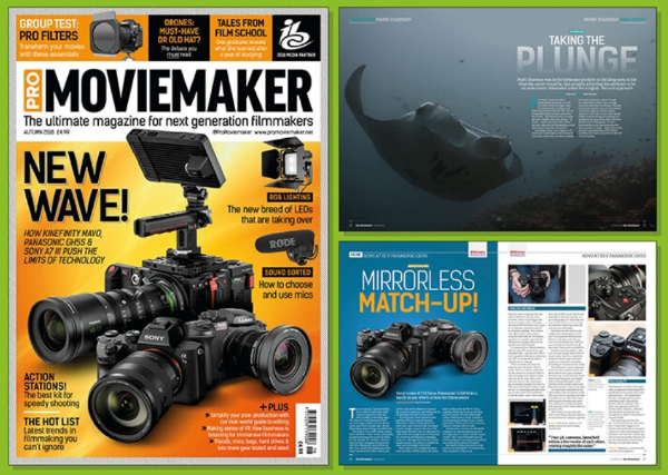 Pro Moviemaker Magazine  Autumn 2018 edition