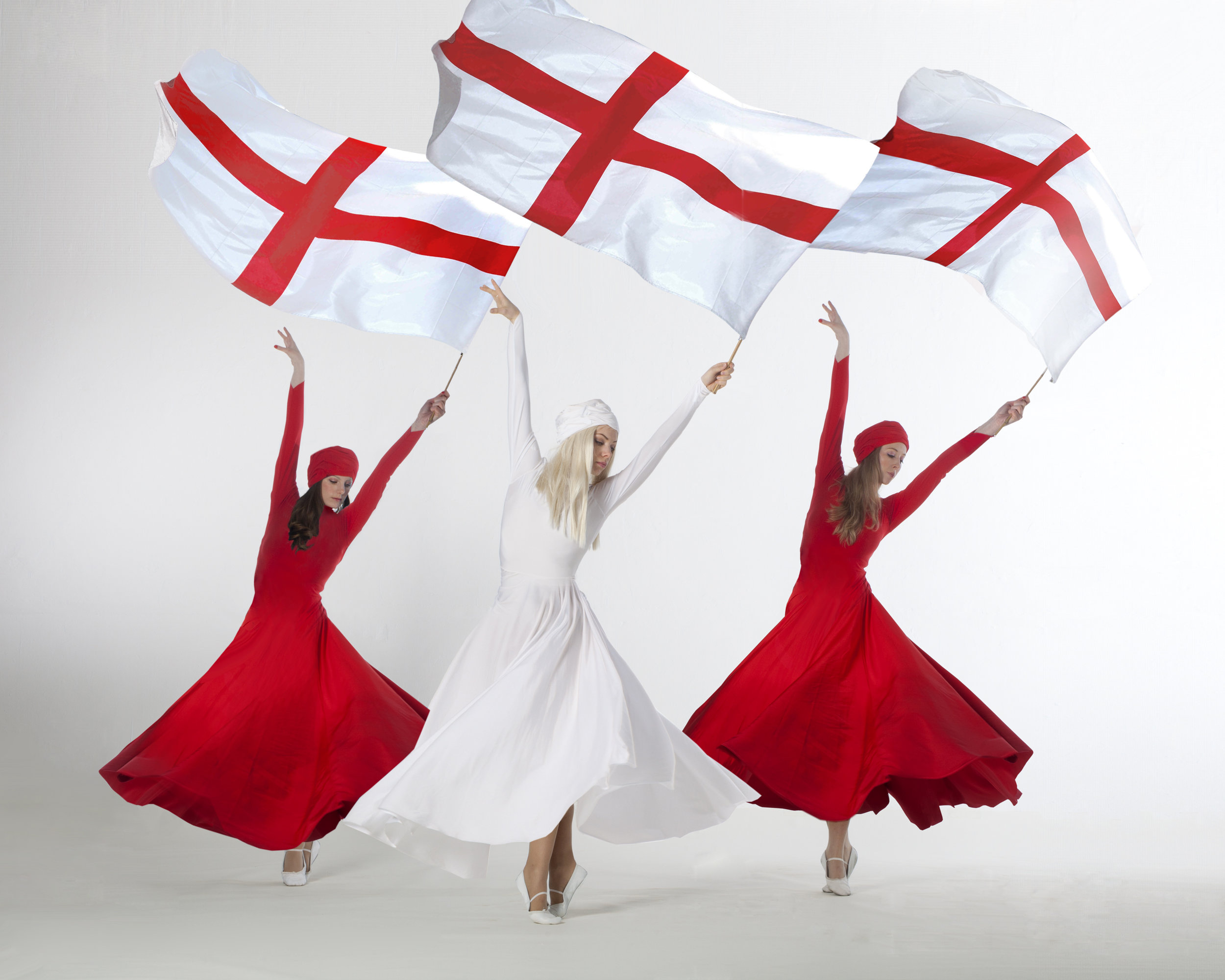 Light Emitting Dance in red and white, flag performance, Divine Company.jpg