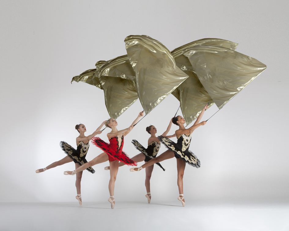 The London Cirque Ballet, flag performance, Divine Company.jpg
