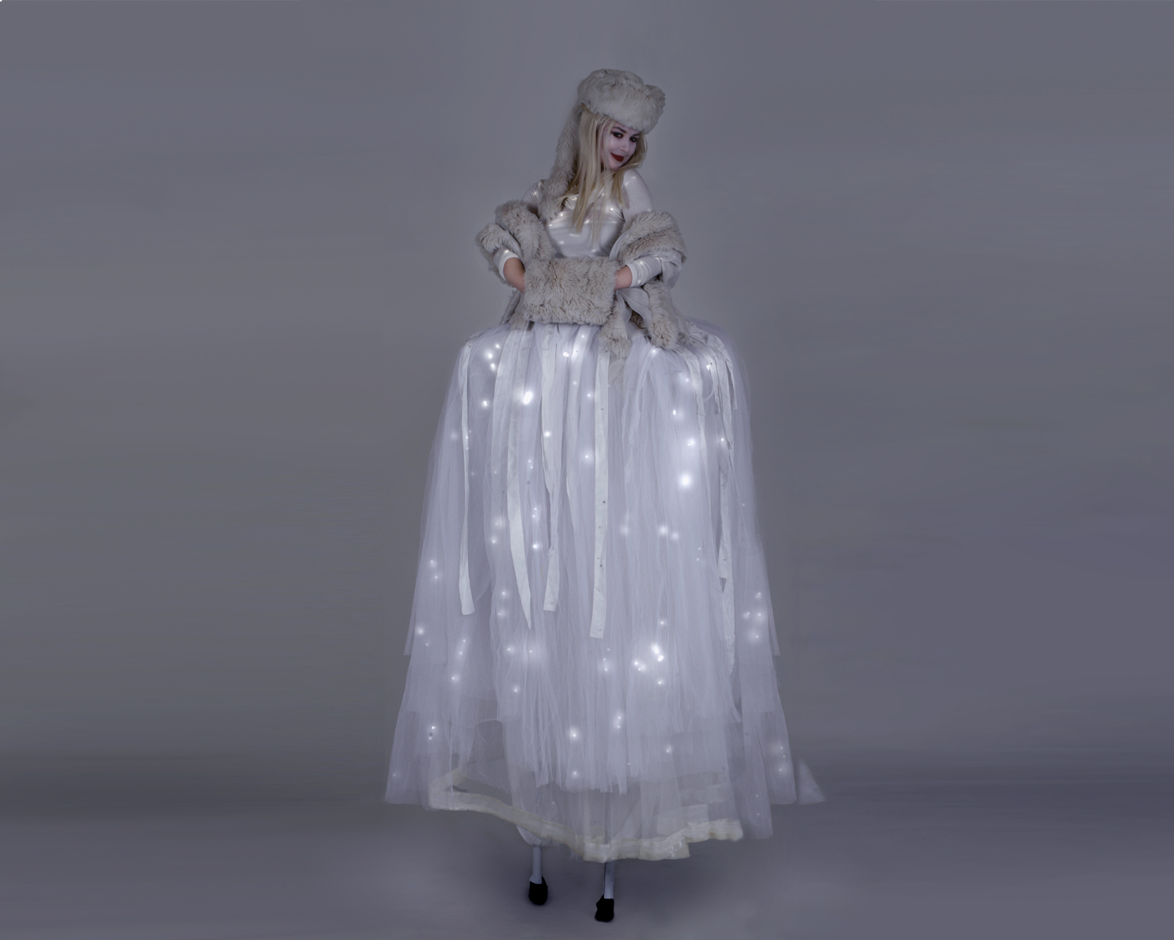 The Ice Queen, stilt performance, Divine Company.jpg