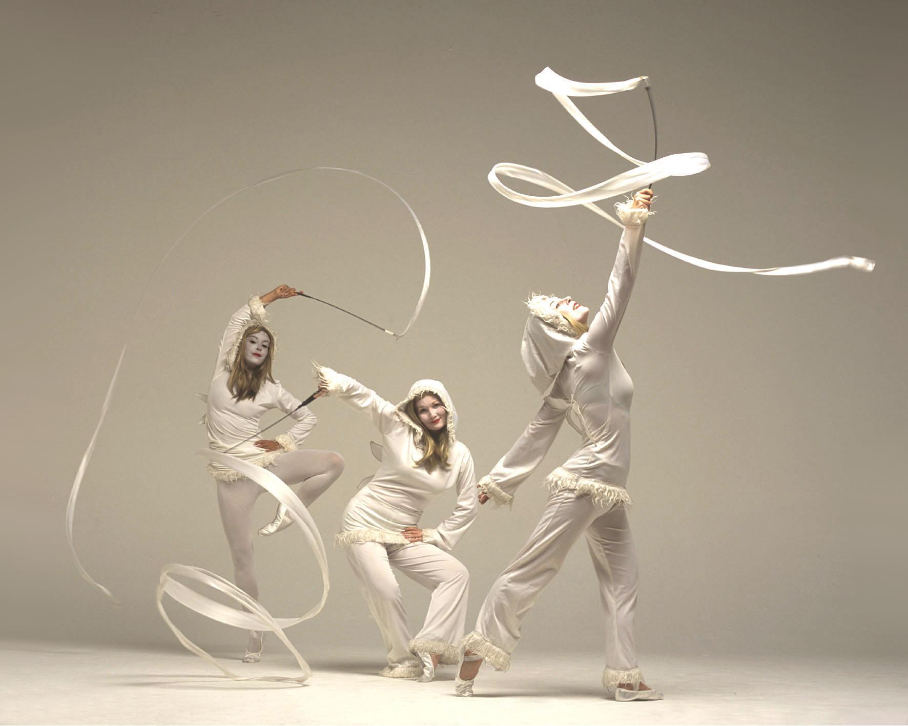 Snow Imps, ribbon performance 2, Divine Company.jpg