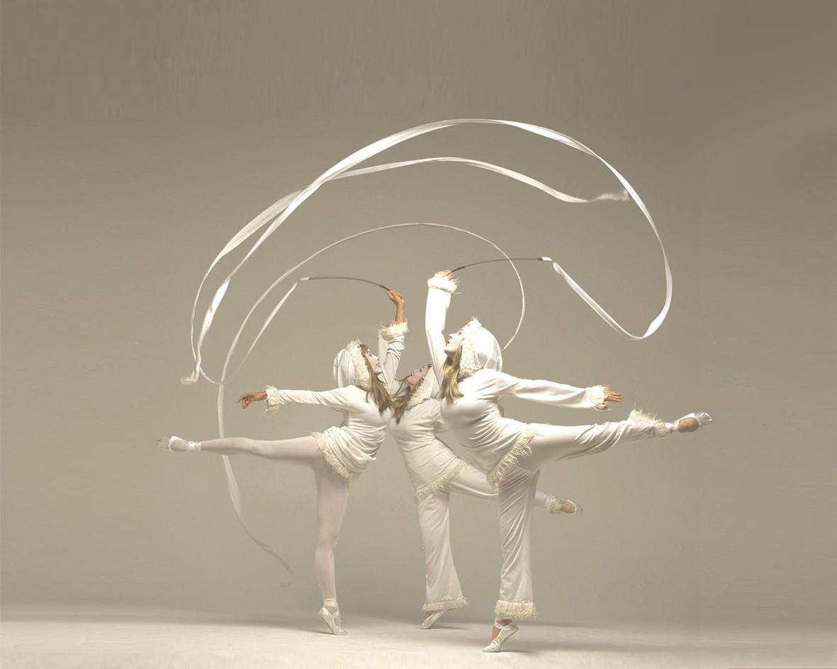 Snow Imps, ribbon performance, Divine Company.jpg