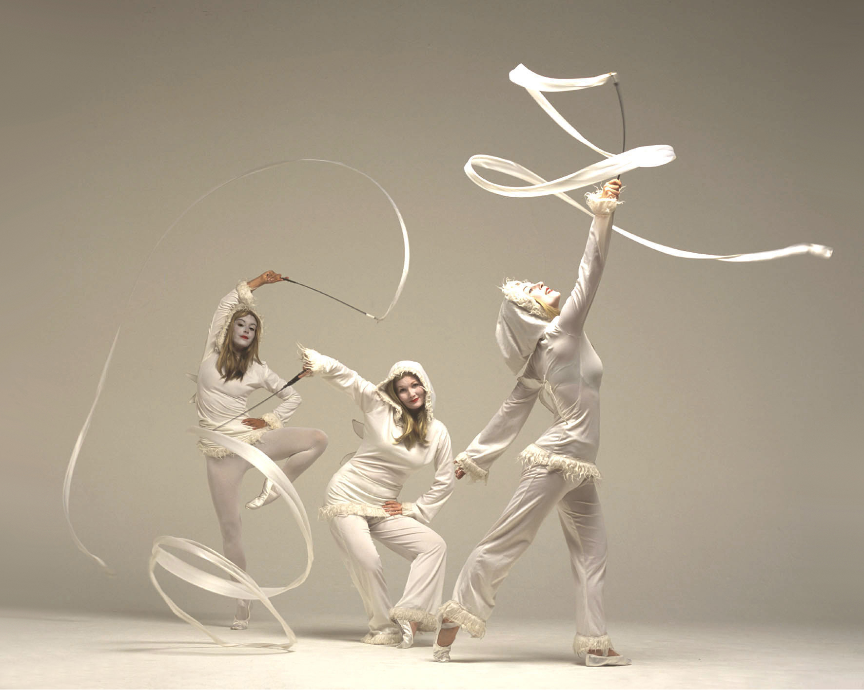 Snow Imps, ribbon performance 2, Divine Company.jpg