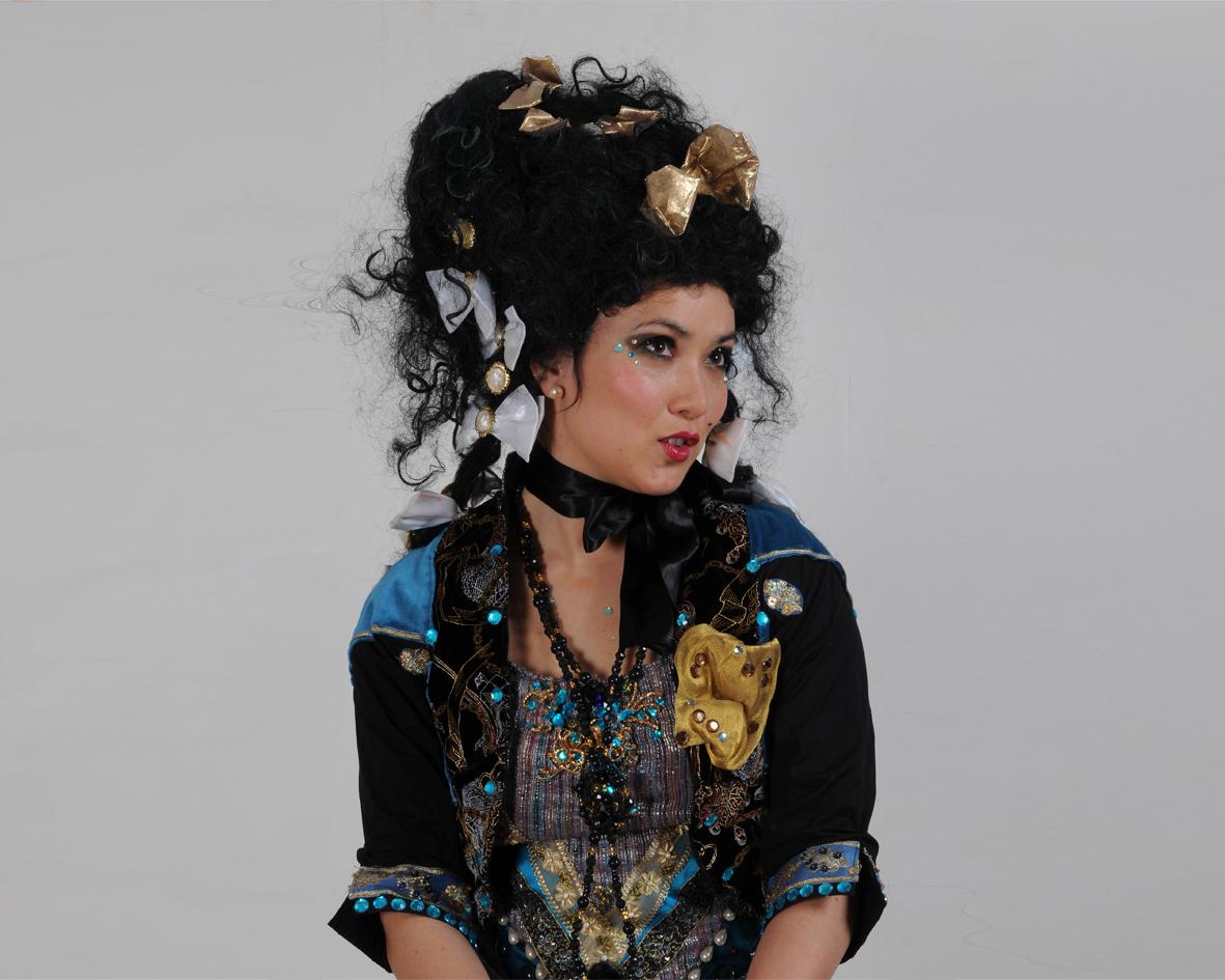 The Powdered Wigs, stilt performance 2, Divine Company.jpg