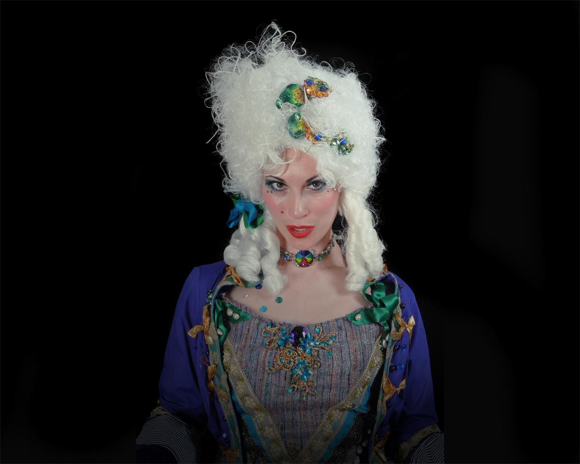 The Powdered Wigs, stilt performance 6, Divine Company.jpg