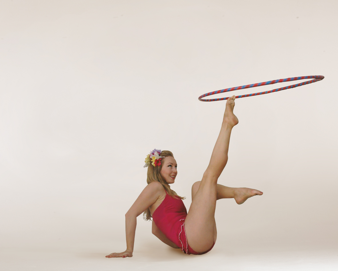 Technicolor Bathers, hoop performance, Divine Company.jpg