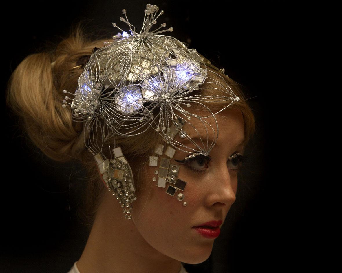 costume, light and mirror head dress, Divine Company.jpg