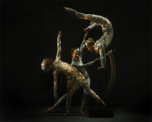 Silver & Crystal and Light, hand balance and gymnastic performance, Divine Company.jpg