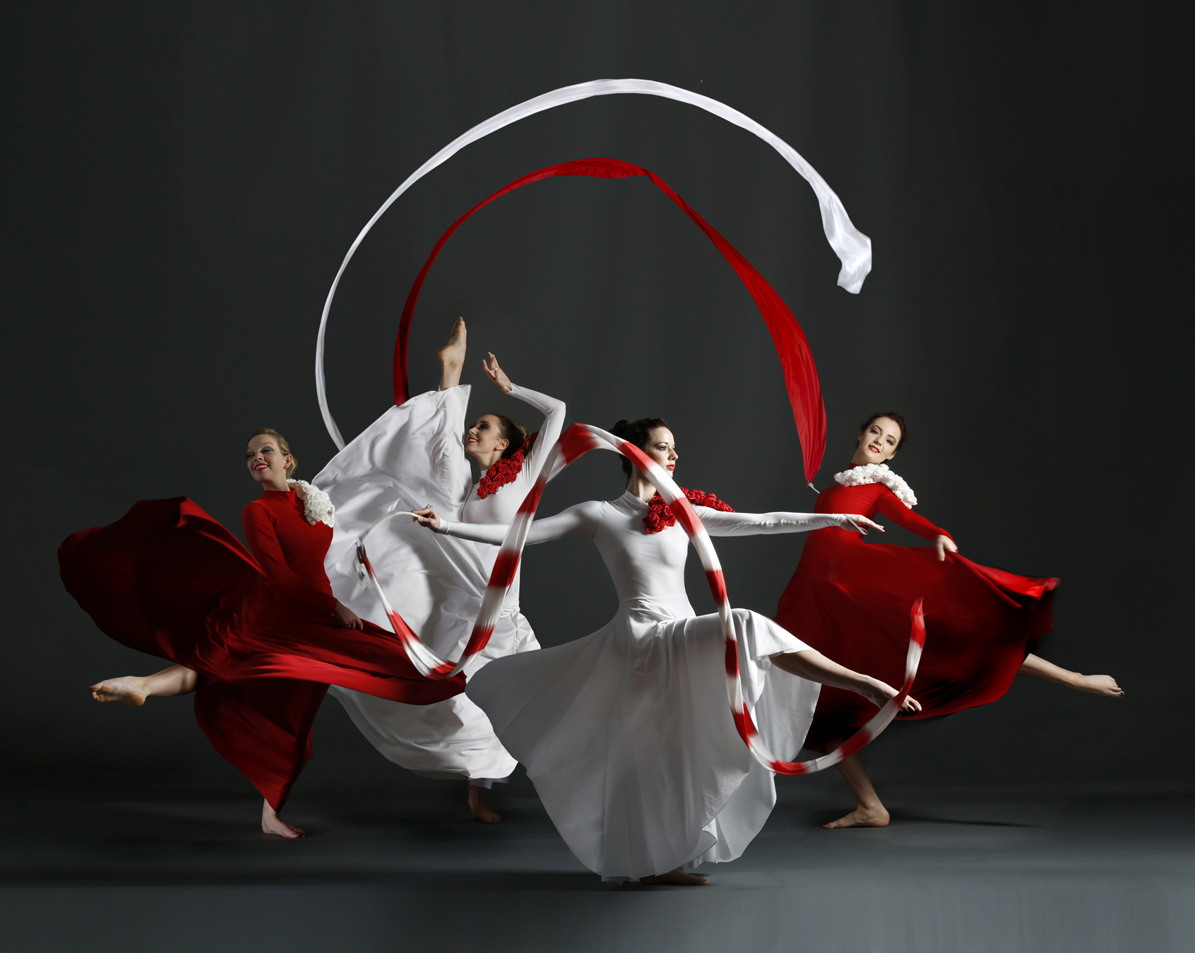 Light Emitting Dance in red and white, Divine Company.jpg