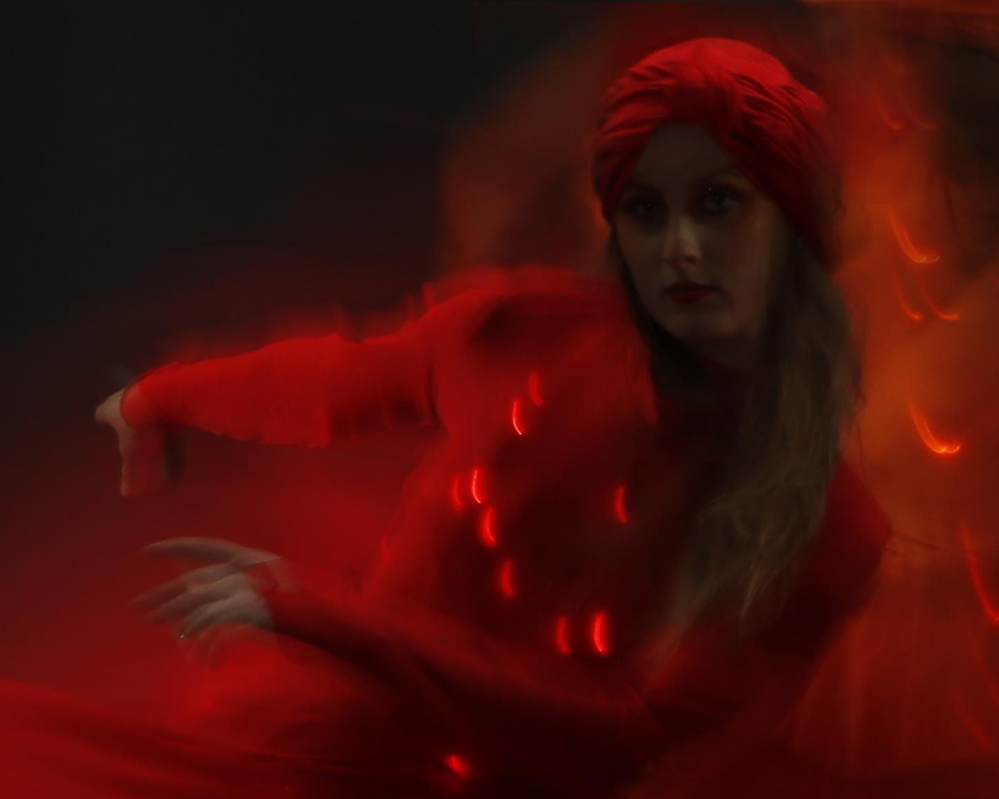 Light Emitting Dance in red, Divine Company.jpg