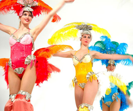 Electric Showgirls, stilt performance 2, Divine Company.jpg