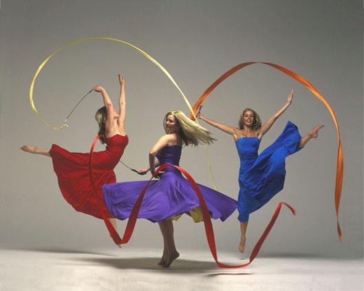 The Fates, ribbon performance, Divine Company.jpg