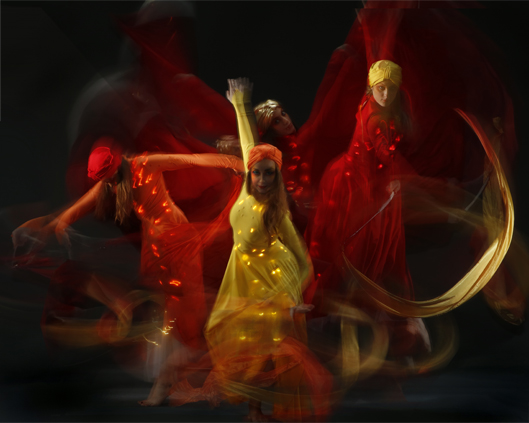 Light Emitting Dance, fire collection, Divine Company.jpg