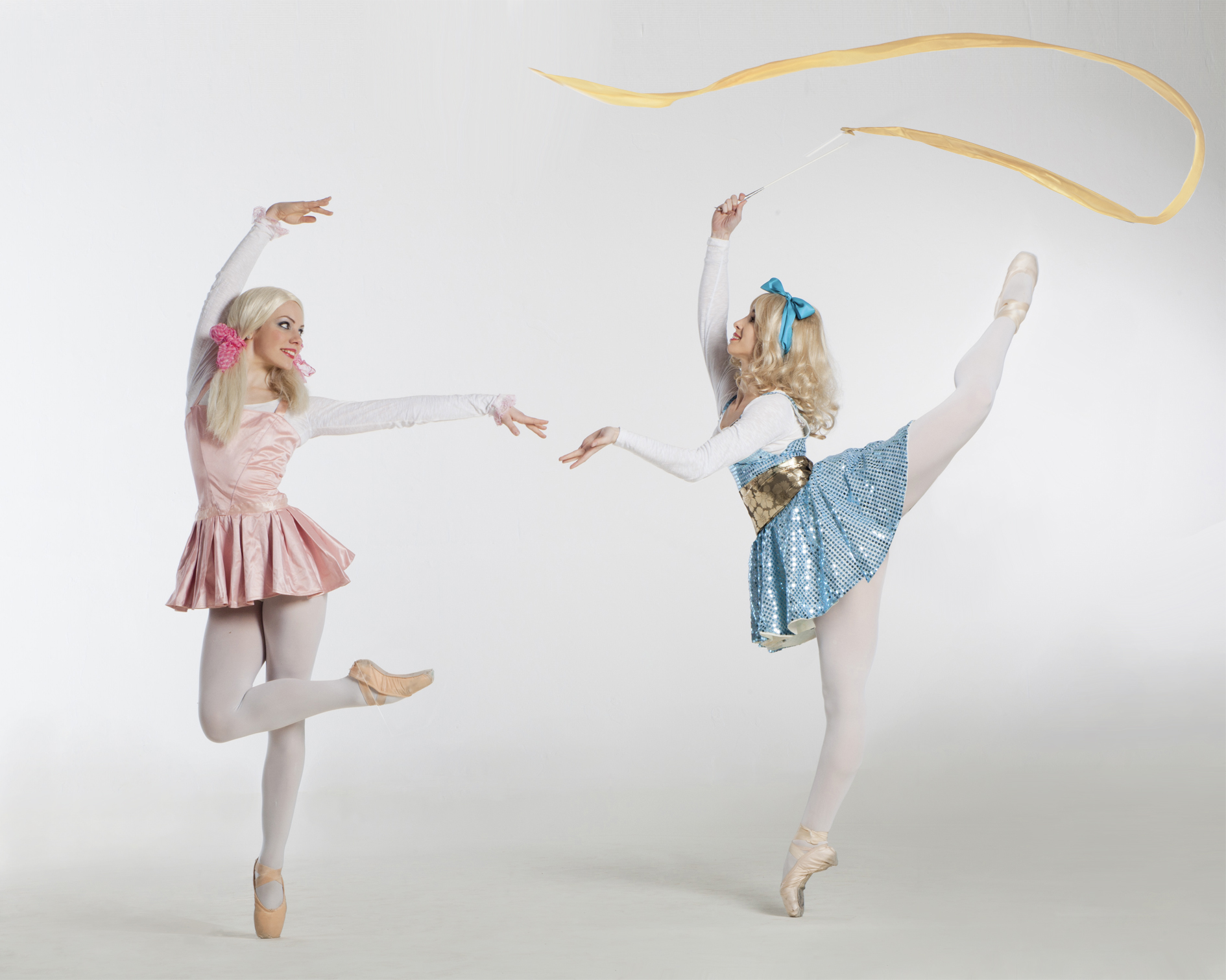 Dolls, ribbon and dance performance, Divine Company.jpg