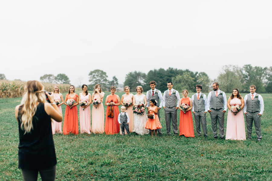 2016 was the year for giant bridal parties!