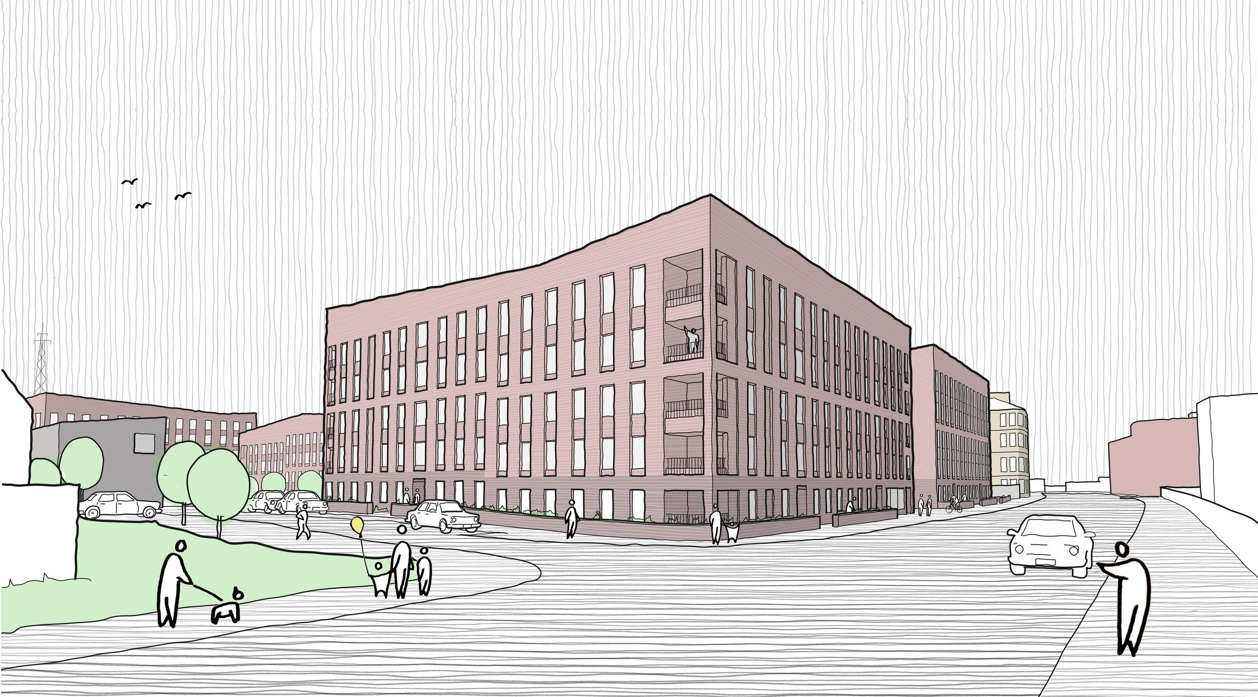March 2019   We are very pleased to receive planning consent for our Maxwell Road / Foundry housing scheme. A huge effort by all involved and very excited to see the scheme progress.