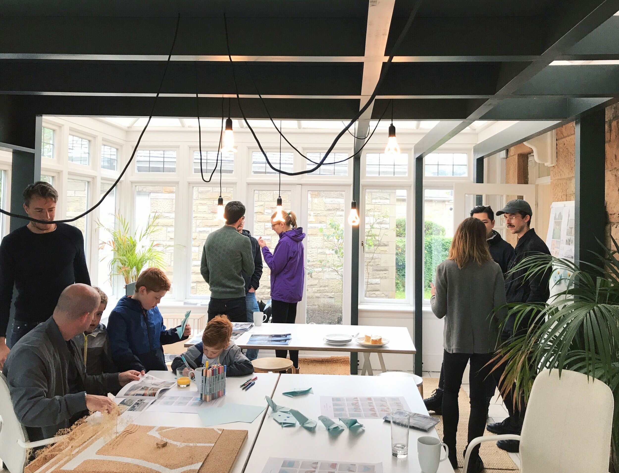 September 2019   A huge thank you to everyone who came by our garden studio for doors open day. We welcomed well over 100 people throughout the day and loved discussing our current work and our newly built Community Classroom.