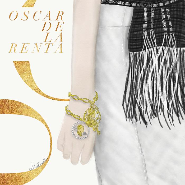 Oscar de la Renta Spring 2019 runway show