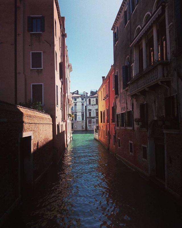 Ah, #Venice.  #travel #canal #italy #italia #venezia