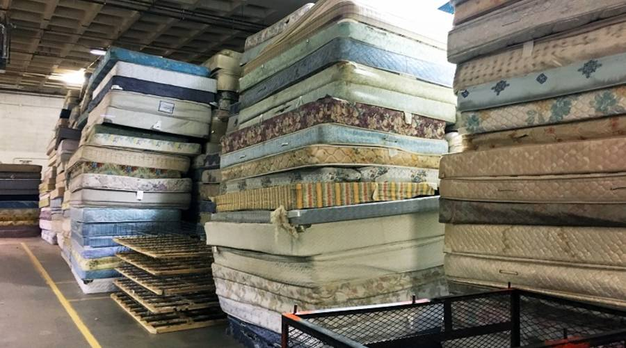 Marketplace: The economics of mattress recycling: the spring's the thing    Millions of mattresses are thrown out each year, creating an expensive challenge for waste managers.