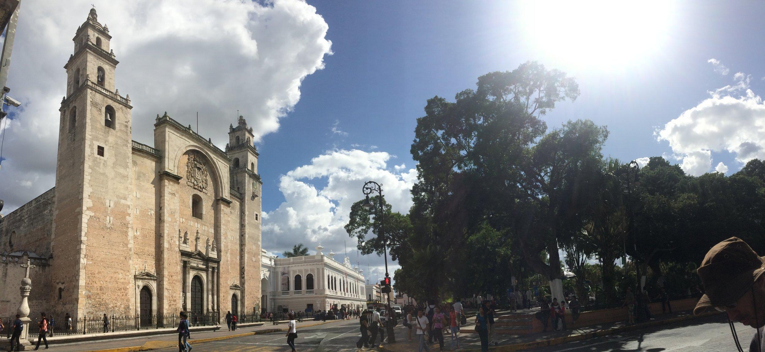 El centro de Mérida <3