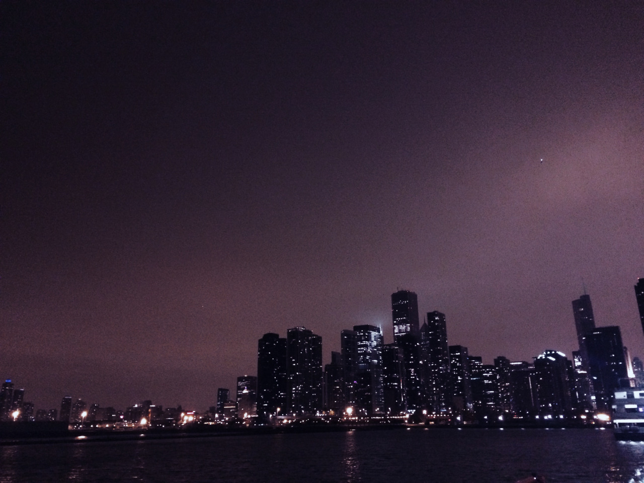 Chicago Skyline. Hermoso.