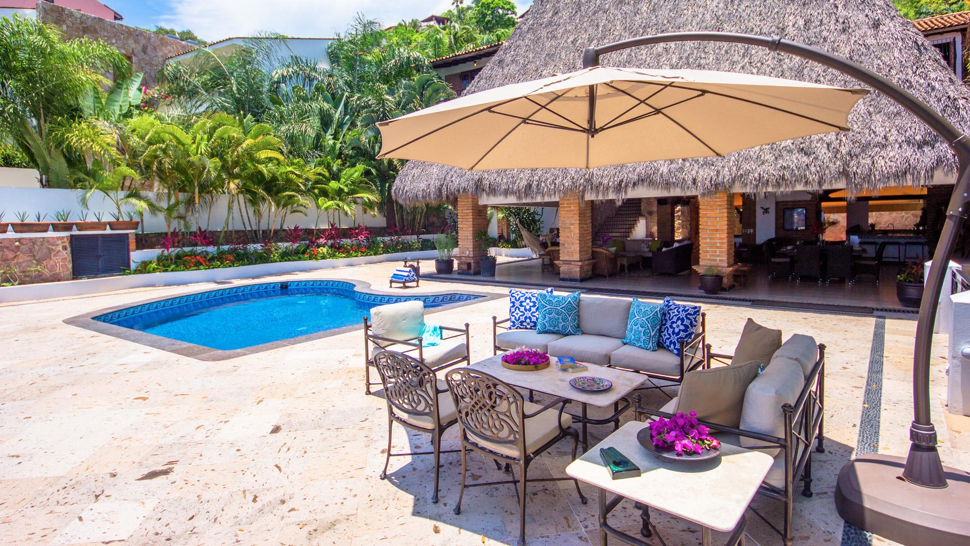 Vacation Vallarta Villa Verde Pool Deck