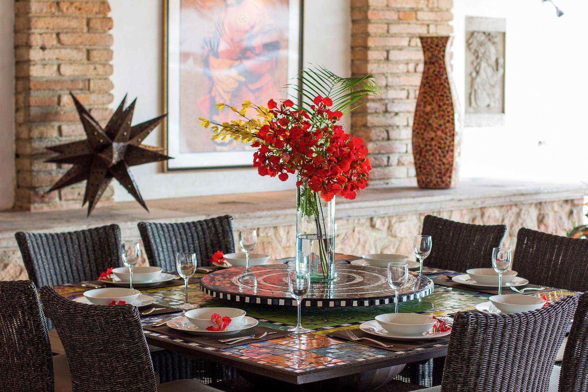 Vacation Vallarta Villa Verde Dining