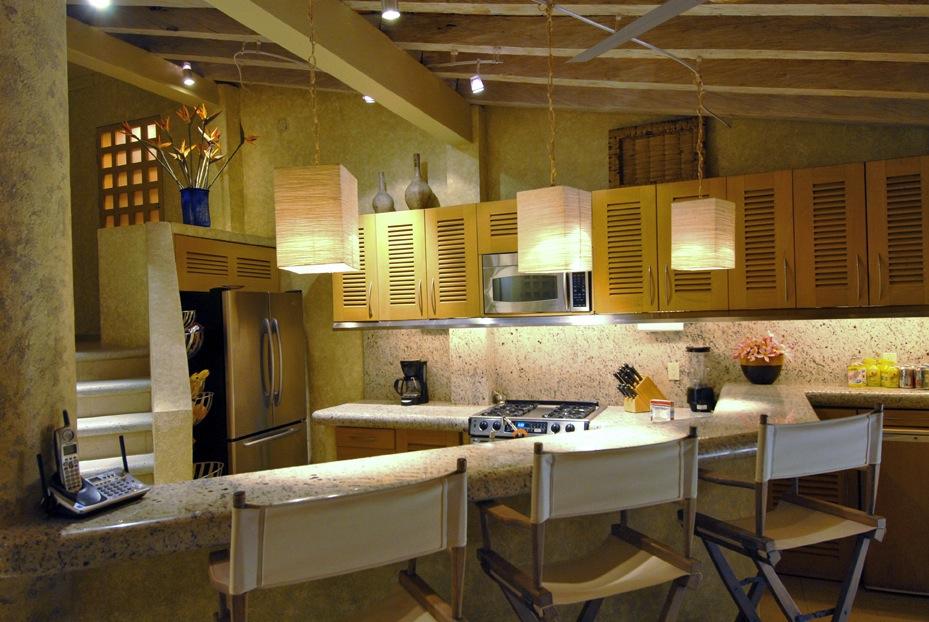 Vacation Vallarta Beachouse Kitchen