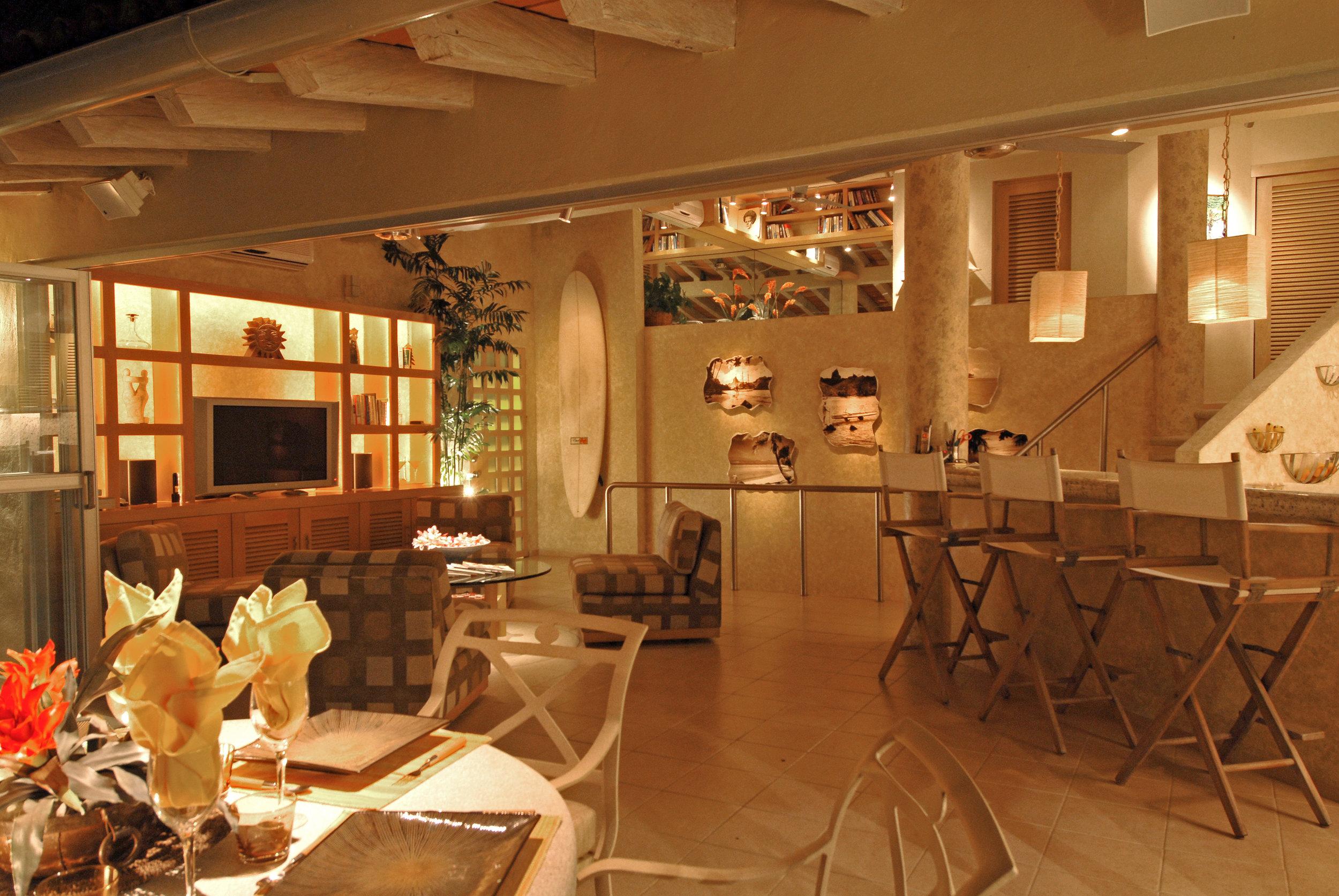 Vacation Vallarta Beachouse Living Space