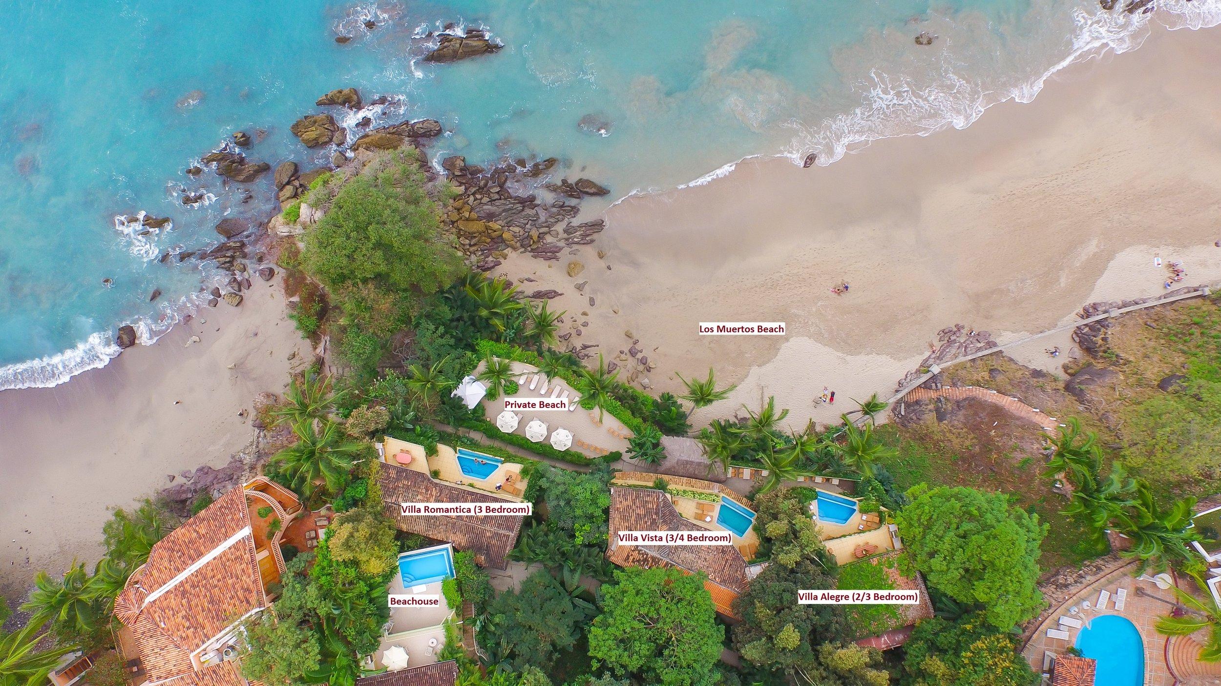 Vacation Vallarta Beachouse Aerial View