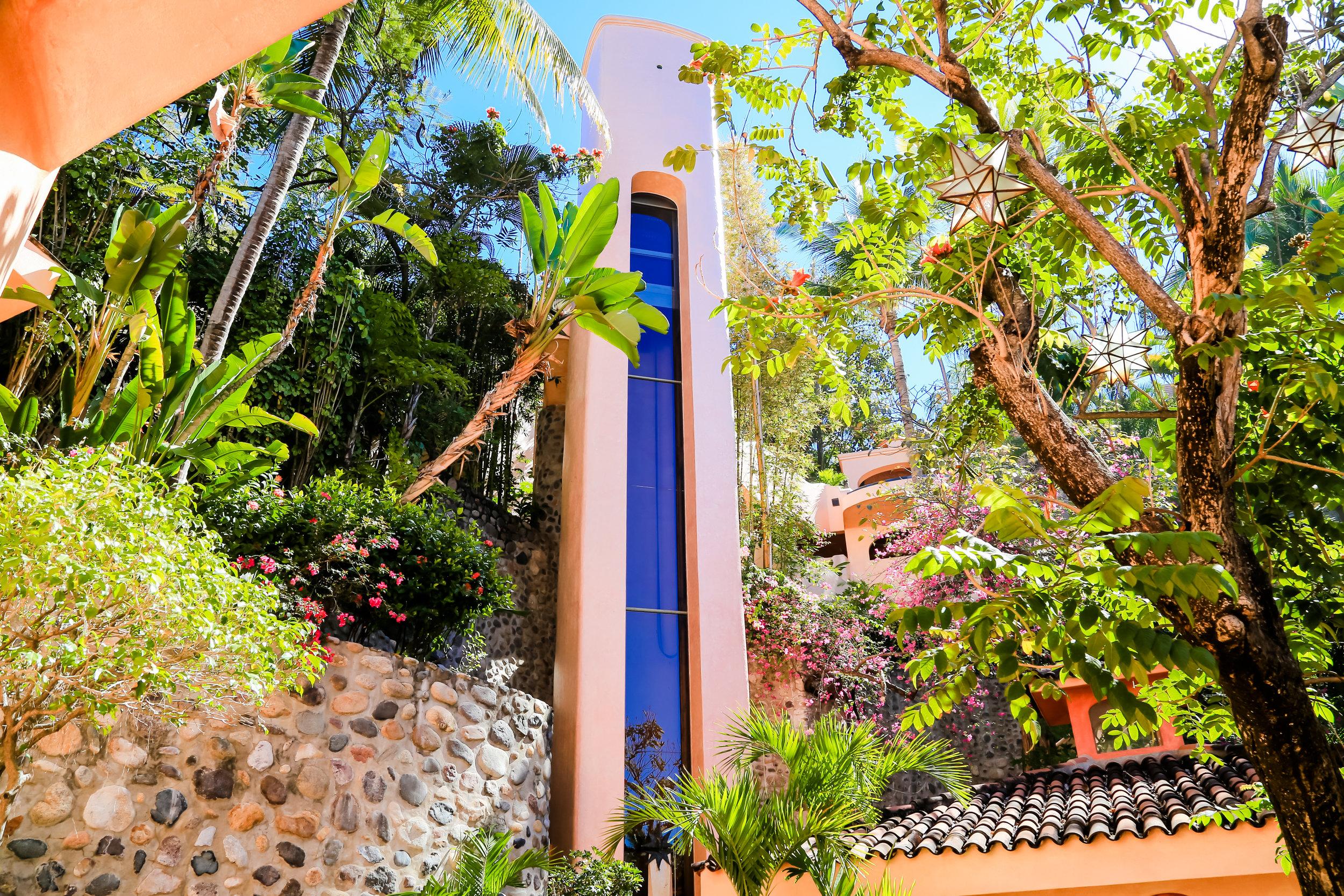 Vacation Vallarta - Villa Estrella Mar Elevator