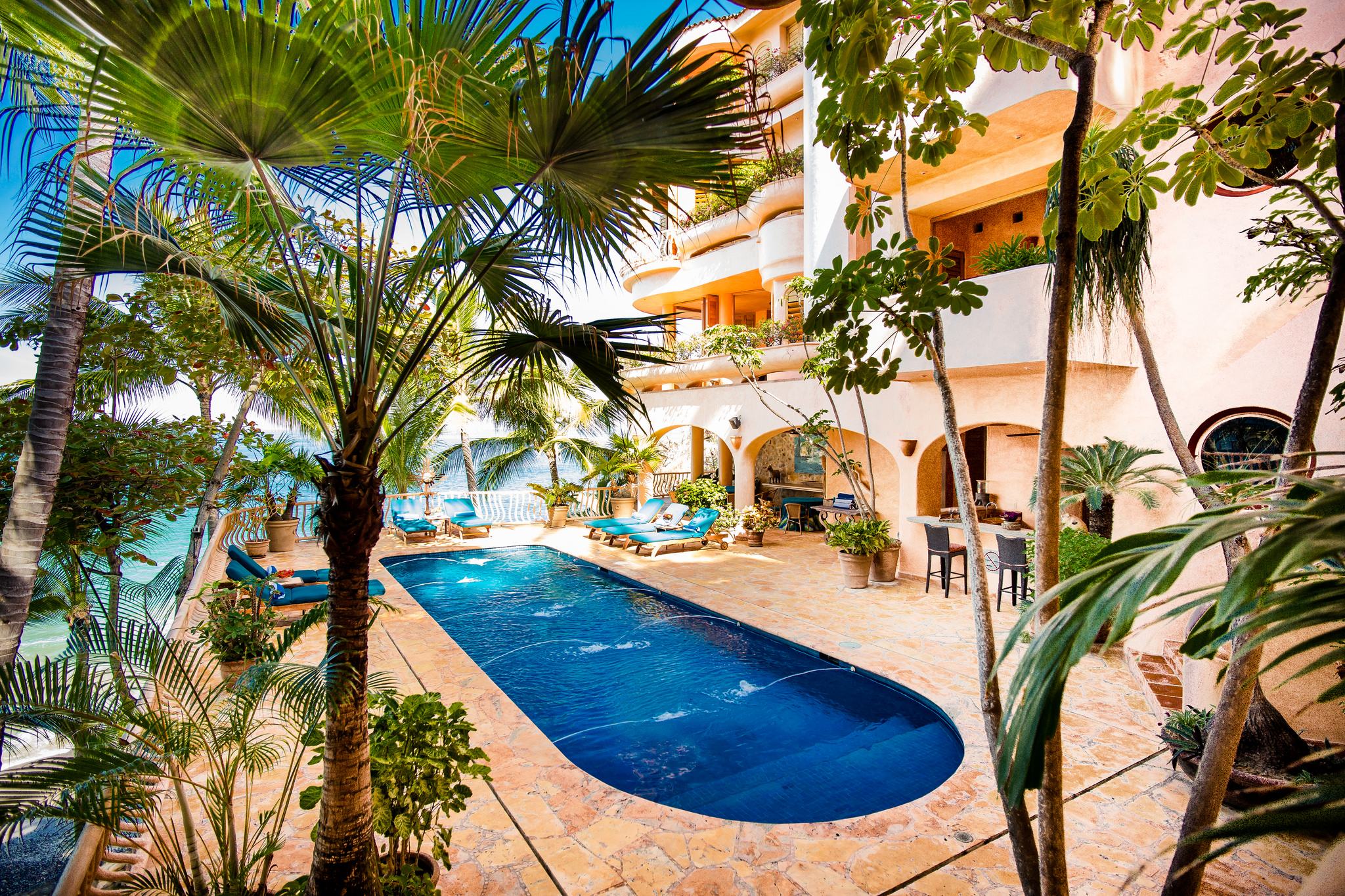 Vacation Vallarta - Villa Estrella Mar Pool