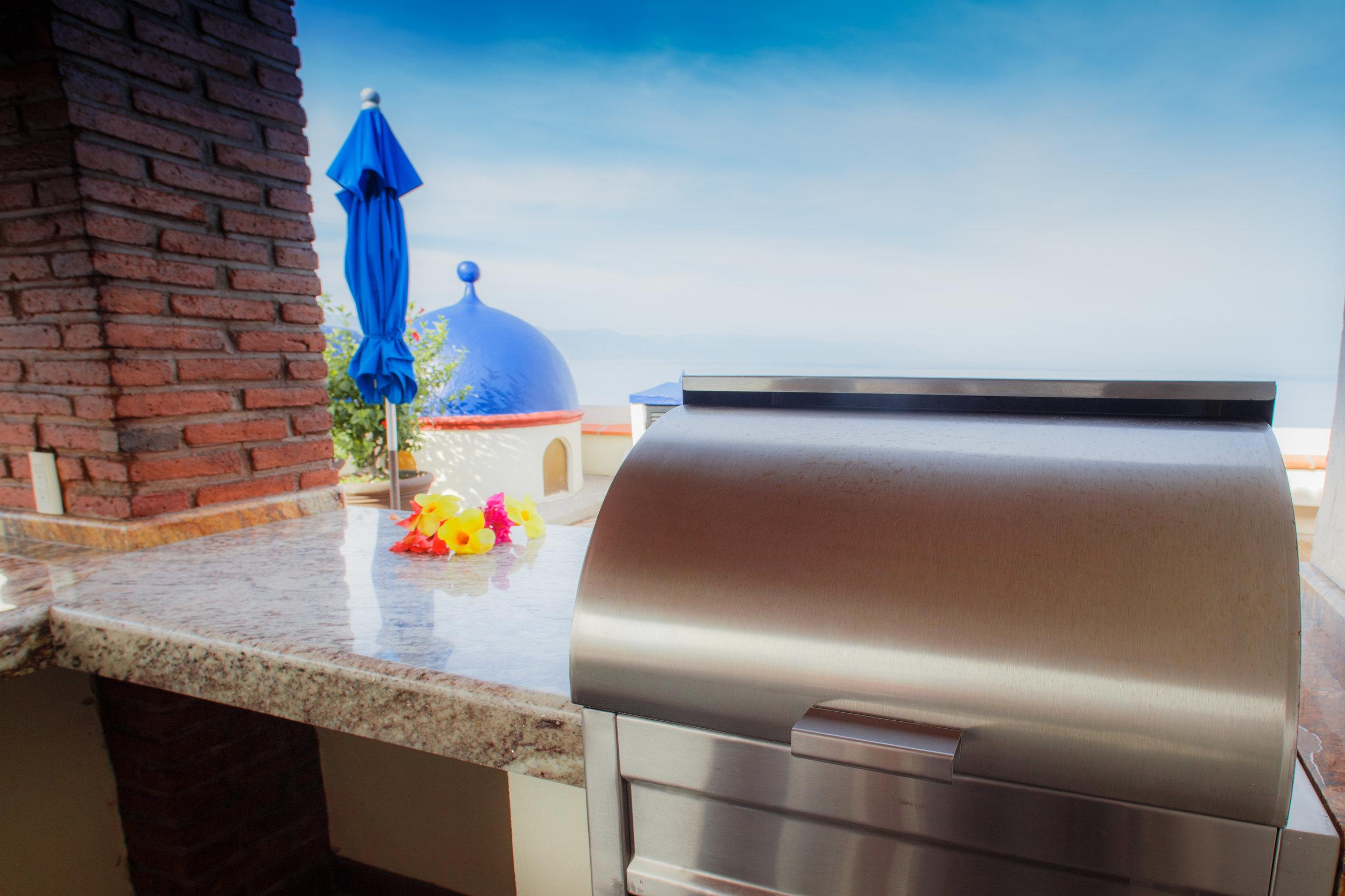 Vacation Vallarta Plazamar Rooftop BBQ