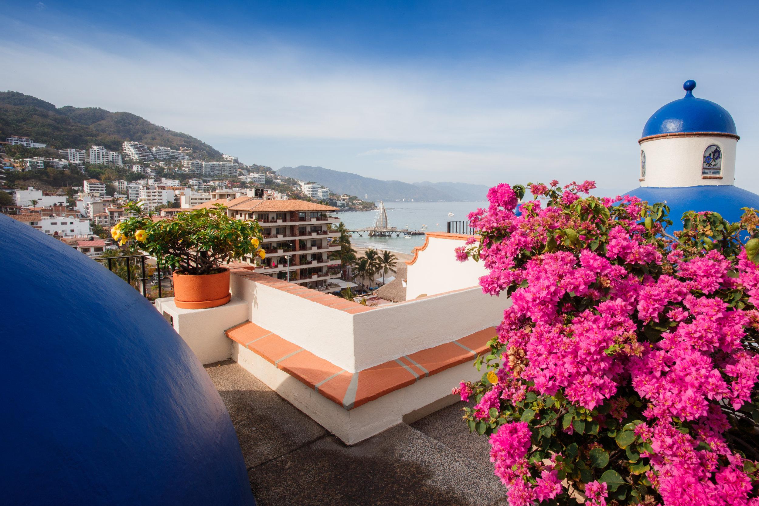 Vacation Vallarta Plazamar Rooftop Views