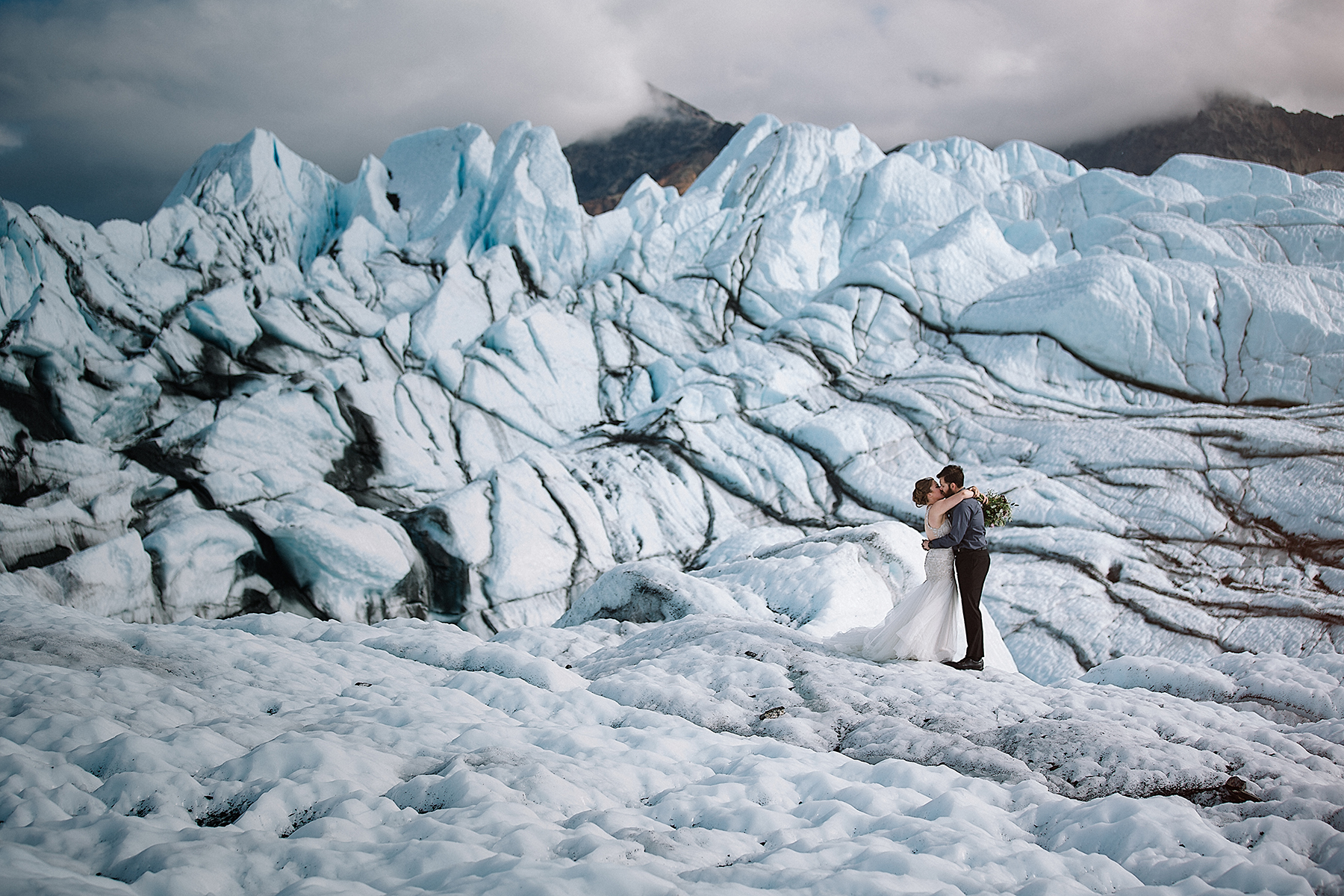 Alaska Glacier Wedding