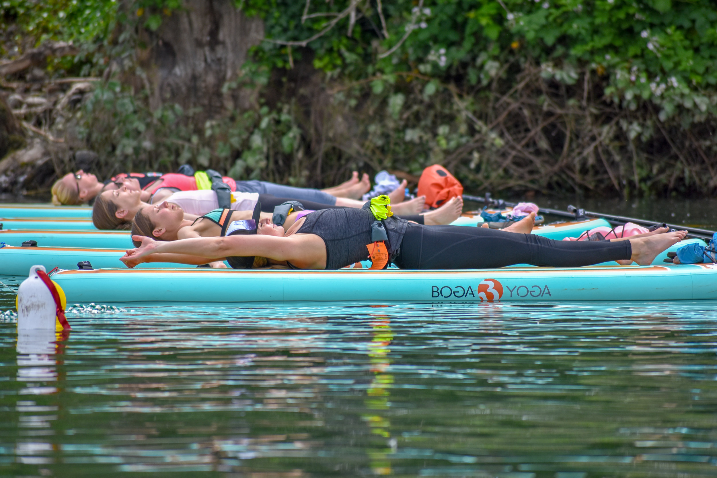 Featured on local news station KATU!  - Check out Kara Mack's feature with KATU on our owner Lauren Fields and SUP yoga!