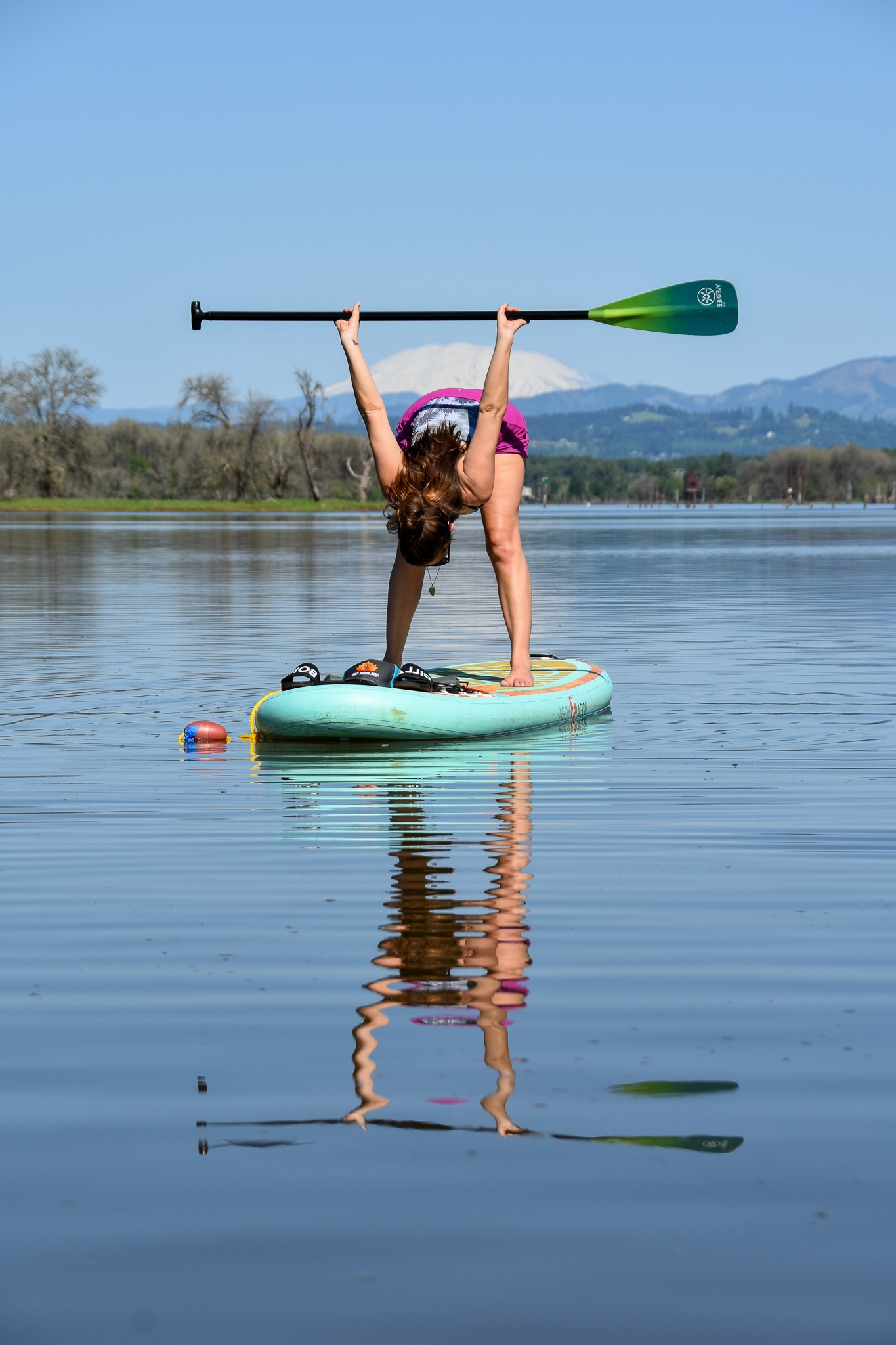 Paddle Stretch - Paddling can create tight shoulders and chest muscles.
