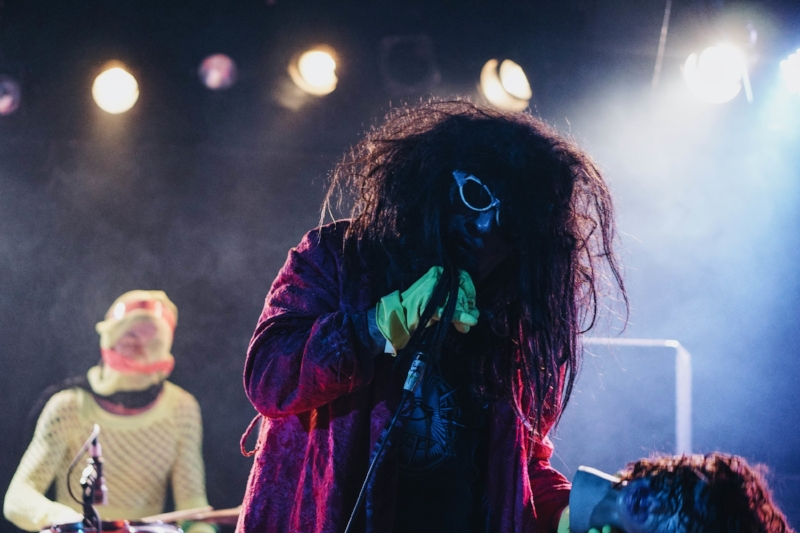 Gary Wilson performing with the Blind Dates in 2016. Photo: Nick Lane