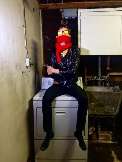 Bobby Weirdo of Weirdo Music Forever. Photo: Suzy Weirdo