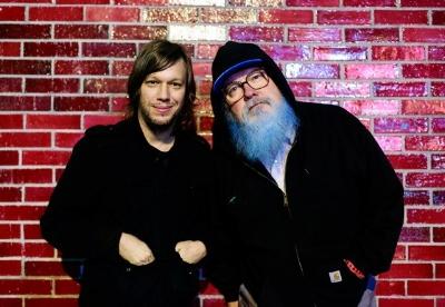 Jason Falkner and R. Stevie Moore: the Duo behind Make It Be. Photo: Steve Keros