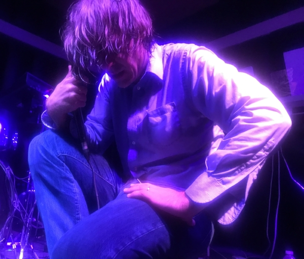 John Maus at the Soda Bar in San Diego, 2017. Photo: WMF
