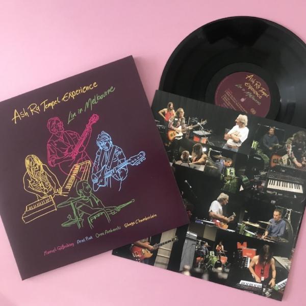 WMF's vinyl copy of  Live in Melbourne