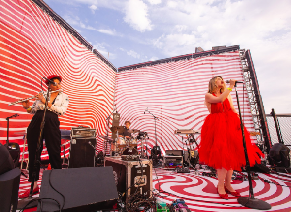 Maraschino performing at the Red Bull Music Festival on May 4, 2018. Photo: Maria Jose Govea