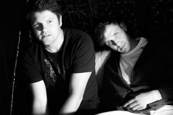 Jason Darrah and Cole MGN of The Samps. Photo: Cameron Murray
