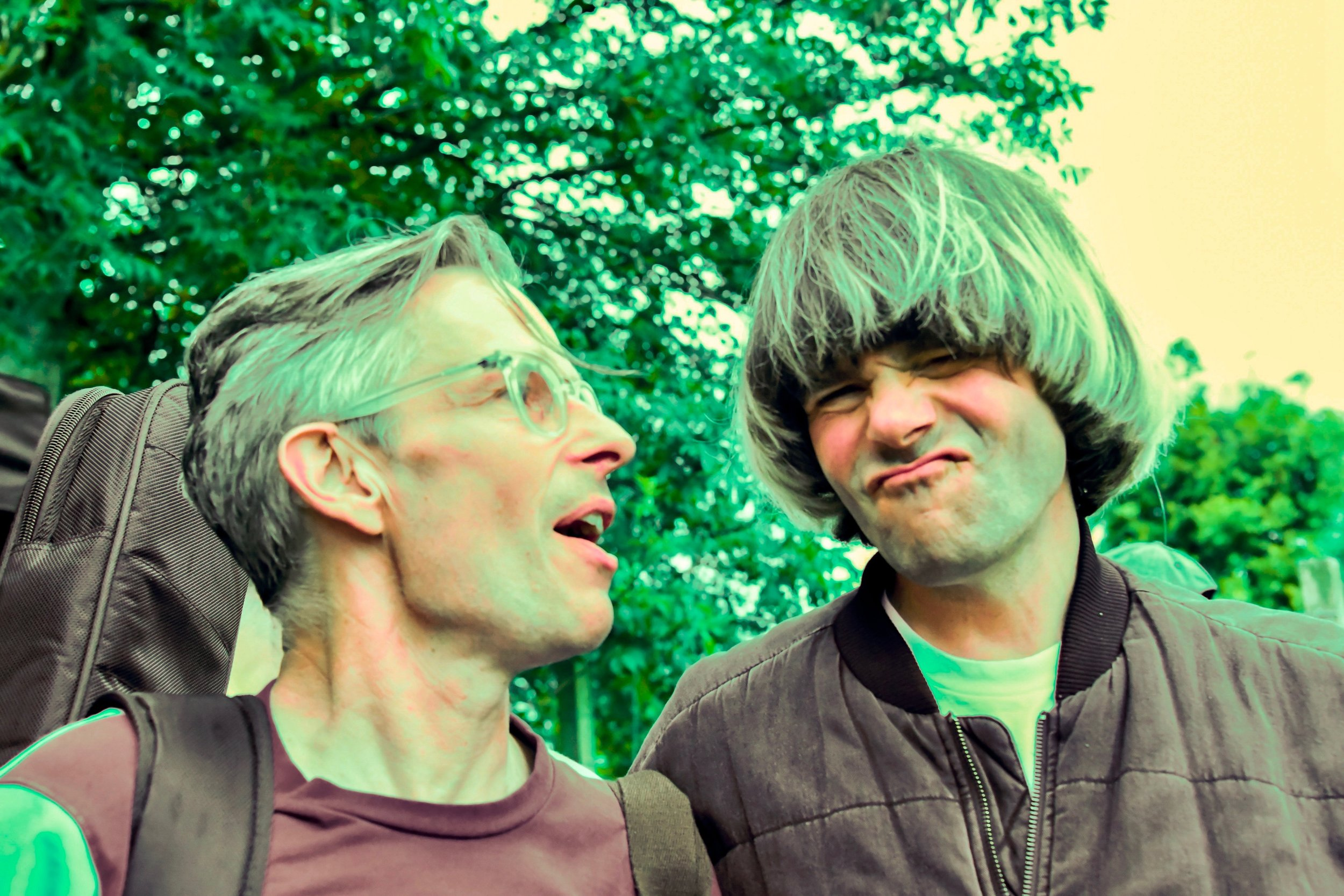 Pete Astor and Tim Burgess at Tim Peaks Diner, 2019. Photo: Cameron Murray