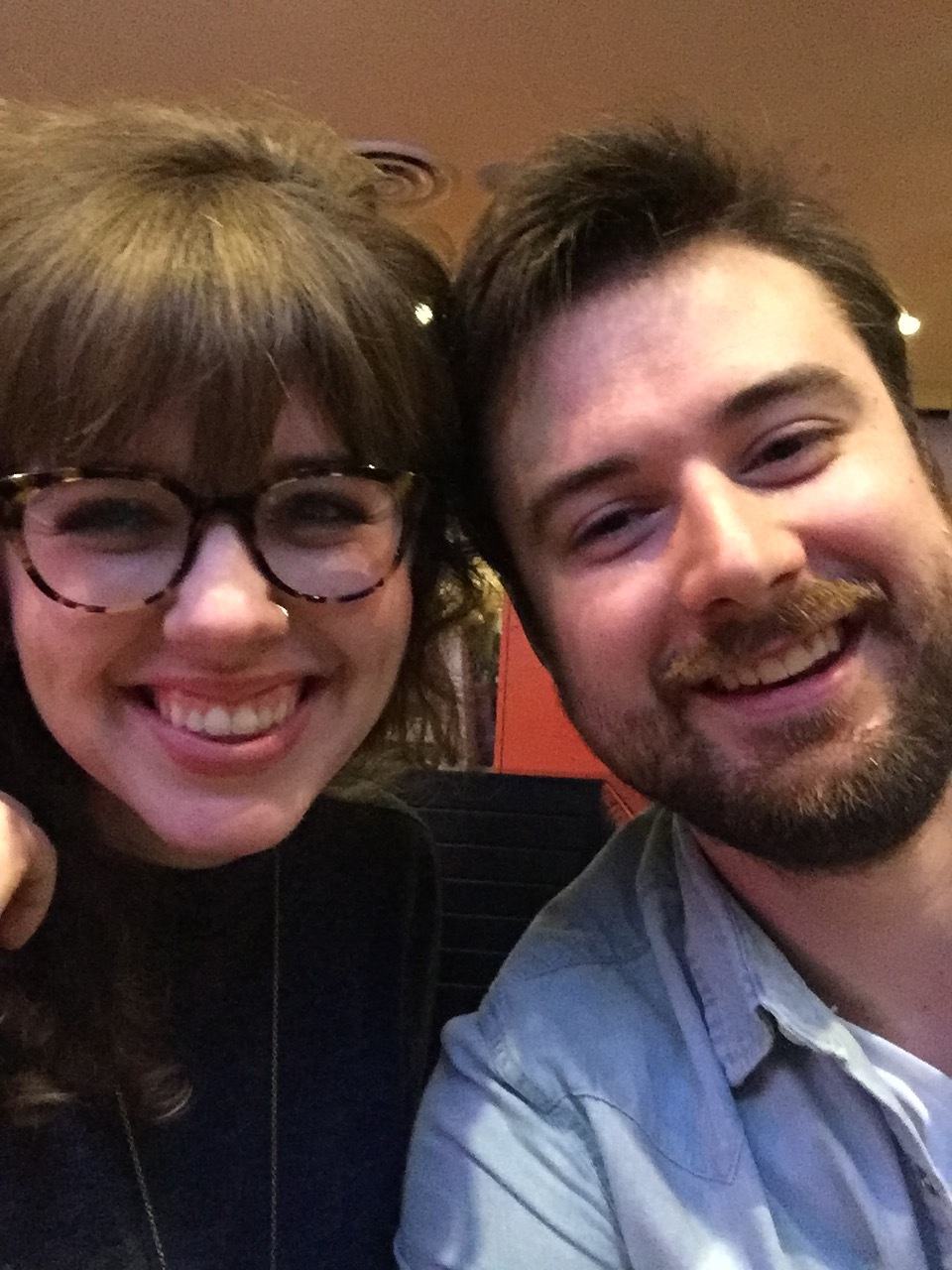Our First Date Selfie!