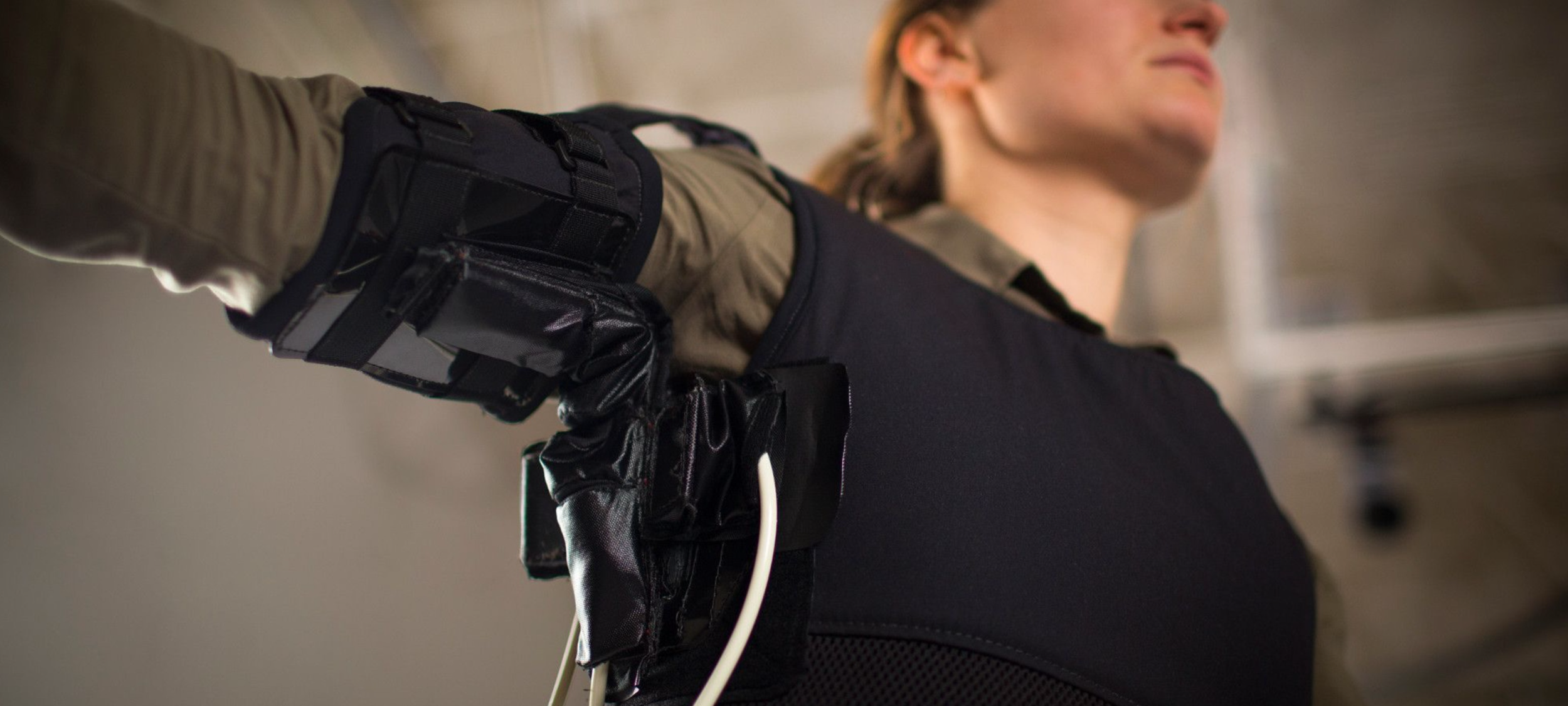 Property of Wyss Institute (https://wyss.harvard.edu/technology/soft-wearable-shoulder-assistive-device/)